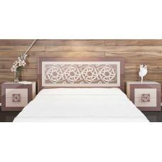 Двуспальная кровать Эллипс МН-118-01