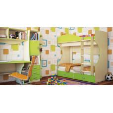 Двухъярусная кровать Комби МН-211-06