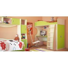 Двухъярусная кровать Комби МН-211-01