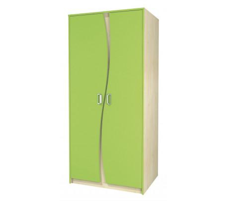 Двухдверный шкаф для одежды Комби МН-211-16