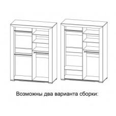 Шкаф-купе для одежды Кристалл МН-131-03