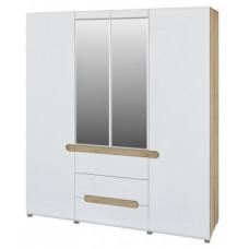 Четырехдверный шкаф для одежды Леонардо МН-026-09