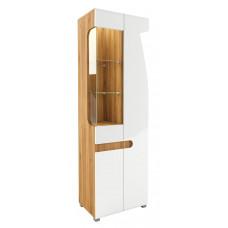 Шкаф витрина Леонардо МН-026-01 (белый)