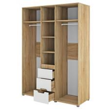 Трехдверный шкаф для одежды Леонардо МН-026-08