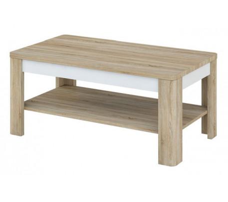 Журнальный стол Леонардо МН-221-01 (белый)