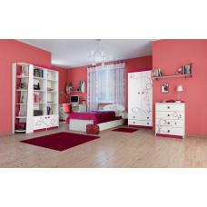 Двухдверный шкаф для одежды Сакура Ш90-2Д0