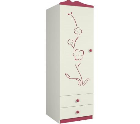 Шкаф для одежды Сакура Ш60-1ЛД0