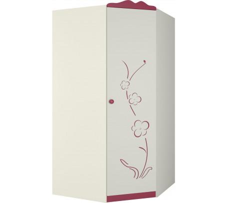 Угловой шкаф для одежды Сакура ШУ-1ПД0