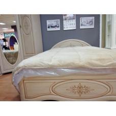 Двуспальная кровать Василиса К1-140П РАСПРОДАЖА С ЭКСПОЗИЦИИ