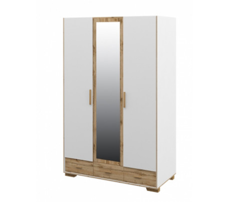 Шкаф трехстворчатый Сканди МН-036-33