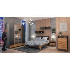 Спальня Сканди Графит