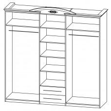 Шкаф для одежды Василиса СП-001-05
