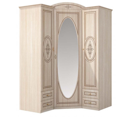 Угловой шкаф для одежды Василиса СП-001-09