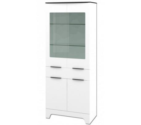 Двухдверный шкаф витрина Верона МН-128-11