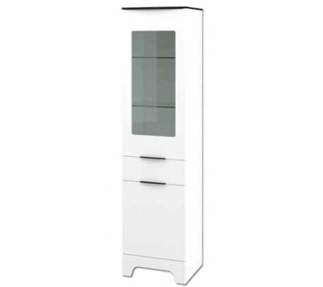 Комбинированный шкаф витрина Верона МН-128-07