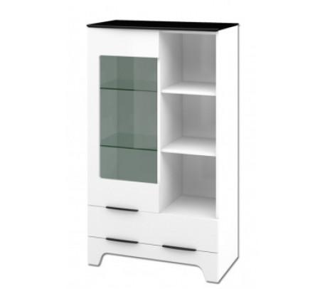 Комбинированный шкаф витрина Верона МН-128-12