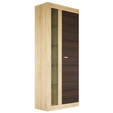 Шкаф-витрина комбинированный Веста МН-130-02