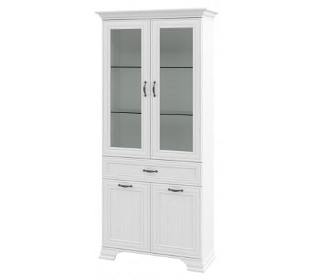 Двухстворчатый шкаф-витрина Юнона МН-132-14