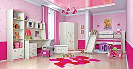 Белорусская мебель для детской комнаты для девочки (9)