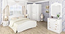 Спальня Орхидея (белая) (10)