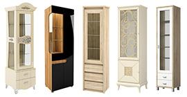 Шкафы витрины (60)