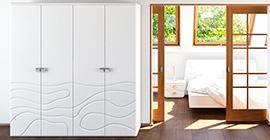 Шкафы в спальню (58)